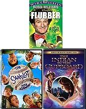 Rubber Green Goo Flubber Disney Robin Williams Children's Films: The Indian in the Cupboard + Sandlot 25th (DVD fun family...