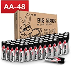 Energizer AA Batteries (48 Count), Double A Max Alkaline...