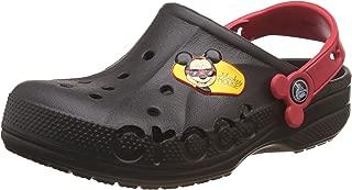 crocs Kids Unisex Baya Mickey Black Clogs and Mules