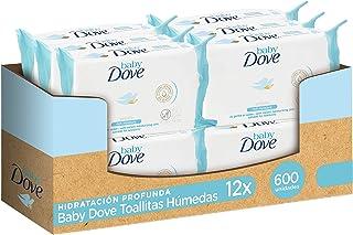 comprar comparacion Baby Dove Toallitas húmedas hidratación profunda - Pack de 12 x 50 (Total: 600 toallitas)