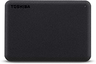 Toshiba 1TB Canvio Advance Portable Hard drive USB 3.2 Gen 1 With Automatic Backup Black -HDTCA10EK3AA