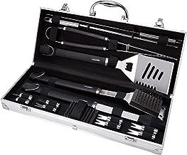 AmazonBasics - Juego de utensilios para barbacoa, 15 piezas