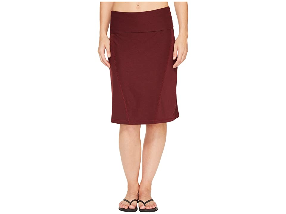The North Face Getaway Skirt (Deep Garnet Red Heather (Prior Season)) Women