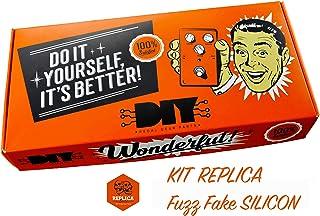 diypedalgearparts® Kit Replica Fuzz Fake silicio (Fuzz Face)