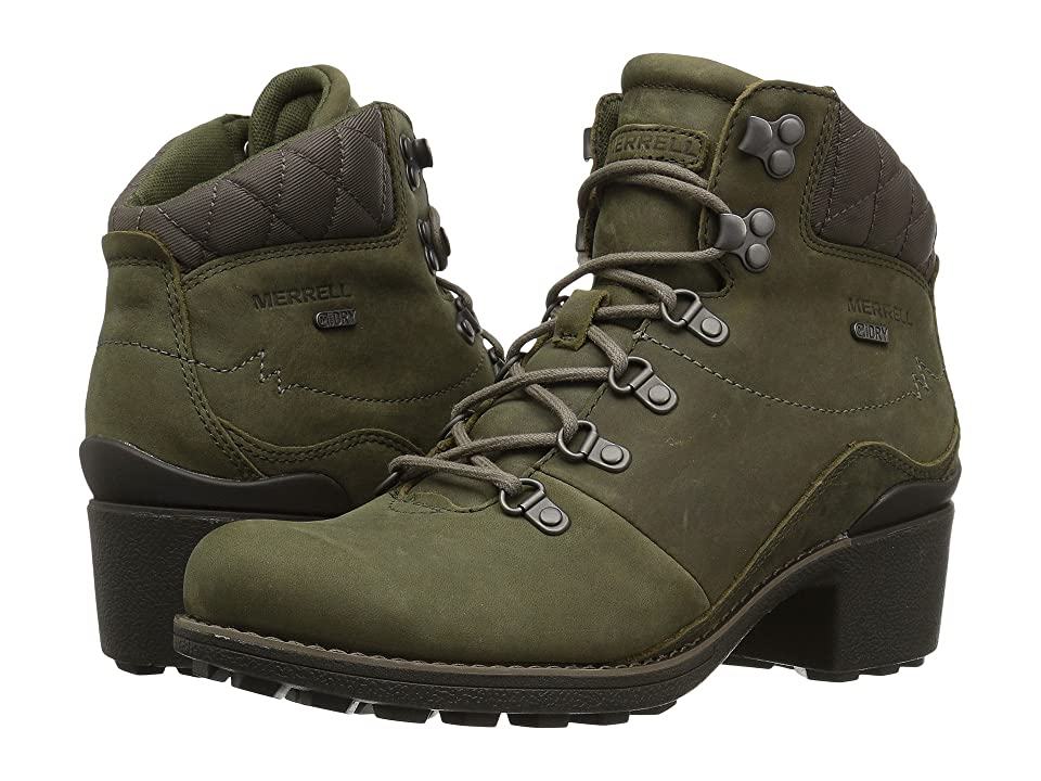 Merrell Chateau Mid Lace Waterproof (Dusty Olive) Women