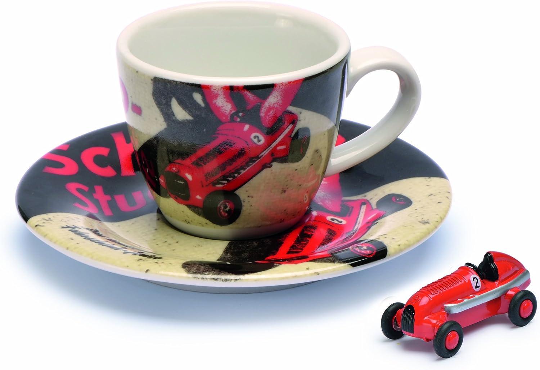 Dickie-Schuco 450986100 - Set Tazza da caffè con piattino Studio 1, Edizione Limitata