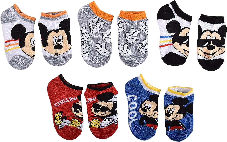 Mickey Mouse boys No Show Socks