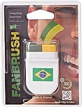 FanBrush Brazil Flag Face Paint
