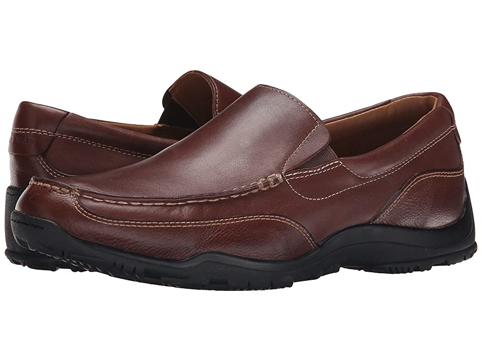 Cole Haan Hughes Grand Slip-On II (Chestnut/Dark Roast) Men