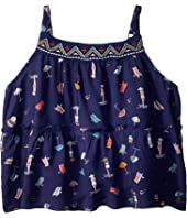 Roxy Kids All Your Heart Strappy Top (Toddler/Little Kids/Big Kids)