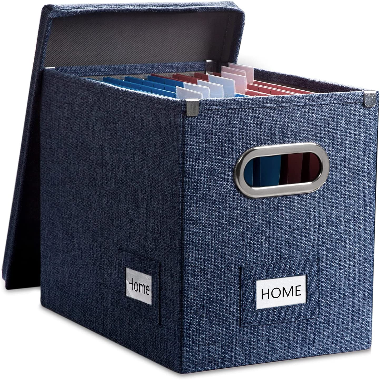 PRANDOM File Organizer Box Max 51% OFF - Set 1 Decorative At the price of surprise of Collapsible Lin