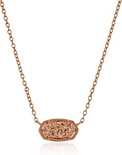 Best real gold rose pendant necklace Reviews