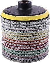 3 Tige pour outil rotatif Nouveau 30 Soft Feutre Polissage Roue de Polissage Mop Pad