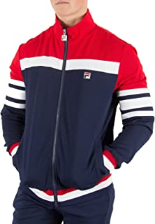 England Men/'s Football Cut and Sew Track Top Jacket Red New