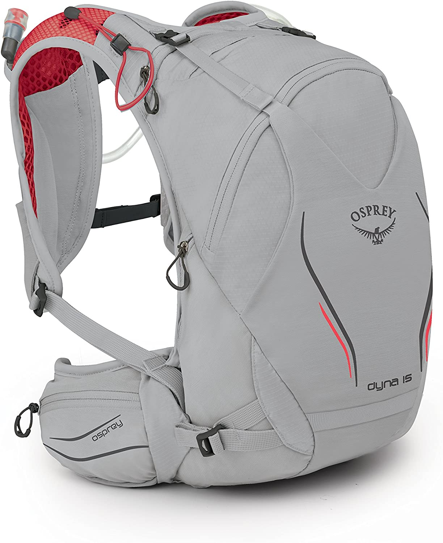 Osprey Packs Osprey Dyna 15 Hydration Pack, Silver Spark, Wxs S, XSmall Small
