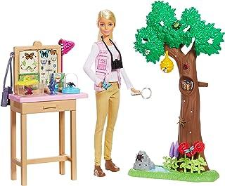 Barbie GDM49 Entomologist Doll and Playset, Multicolour