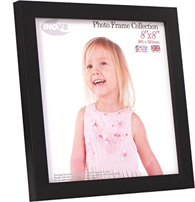 Malden International Designs 2350-80 Mason Black Angle Gold Inner Border Picture Frame