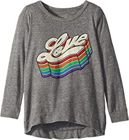 Love Vintage Tri-Blend Pullover (Big Kids)