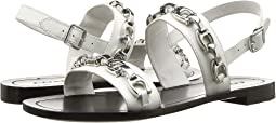 Eden Flat Sandal with Signature Chain