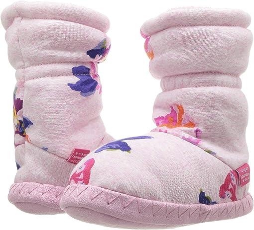 Pink Marl Granny Floral