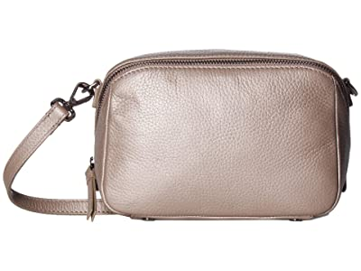 ECCO SP 3 Medium Boxy (Grey Rose Metallic) Wristlet Handbags