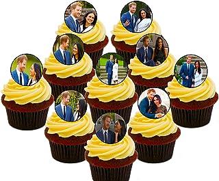 Royal Wedding Prince Harry y Meghan Decoración comestible