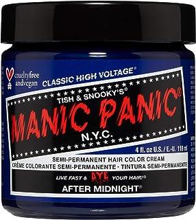 Manic Panic - After Midnight Classic Creme Vegan Cruelty Free Blue Semi Permanent Hair Dye 118ml