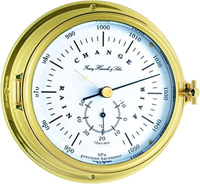 Amazon com: Artshai Antique look 12 inch beautiful Wall Clock, Brass