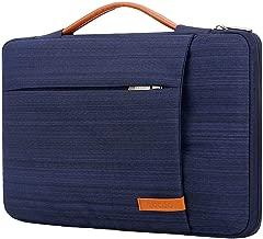 Lacdo 360° Protective Laptop Sleeve Case Briefcase Bag Compatible 15