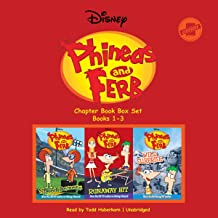 Phineas and Ferb Chapter Book Box Set (Books 1-3): Speed Demons, Runaway Hit, and Wild Surprise