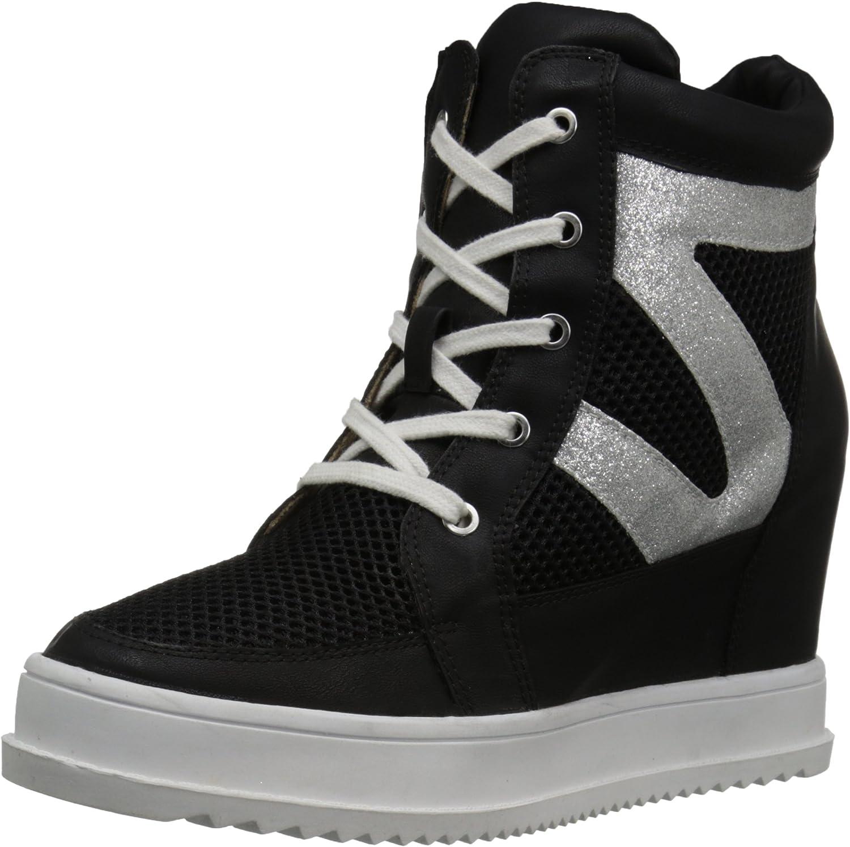 Mojo Moxy Womens Happy Fashion Sneaker