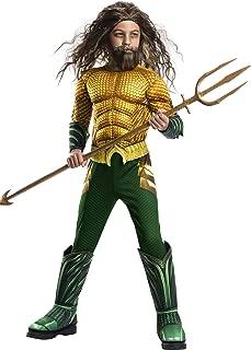 Rubie's Boys Aquaman Movie Child's Deluxe Costume, Large