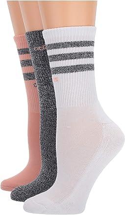 Dust Pink/Black/White Marl/White