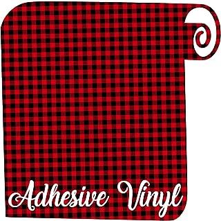 Plaid Adhesive Vinyl - 12