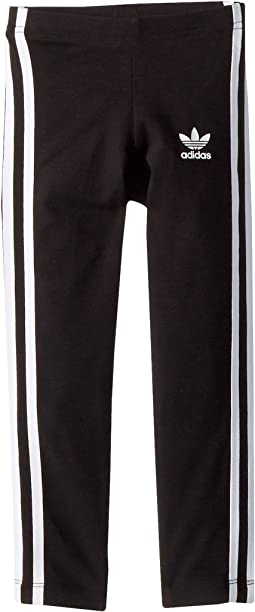 adidas Originals Kids 3-Stripes Leggings (Toddler/Big Kids)