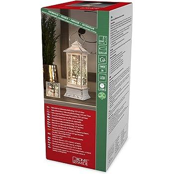 exkl. //  Batteriebetrieben: 3xAA 1.5V Konstsmide 6178-203 LED Acrylfigur Welpe // f/ür Innen // 20 kalt wei/ße Dioden IP20