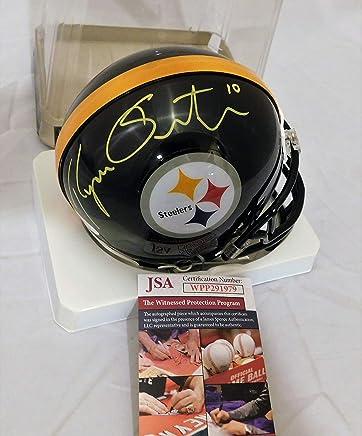 eddeb71196a RYAN SWITZER Signed/Autographed Pittsburgh Steelers Mini Helmet JSA Witness  COA