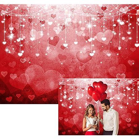 VVM 7x5ft Backdrop Happy Valentines Day Photography Background Festive Party Photo Shoot Props Party Event Portrait Photoshoot Backdrop MVV088