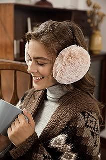 accsa Women Fancy Chic Faux Fur Fancy Warm Winter Outdoor Earmuff