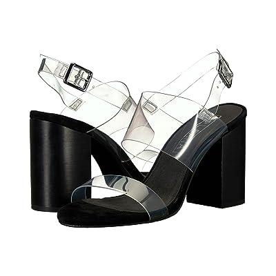 Sol Sana Mavis Heel (Black Suede) High Heels