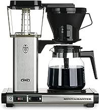 Technivorm Moccamaster 59691 KB Coffee Brewer, 40 oz, Brushed silver (Renewed)