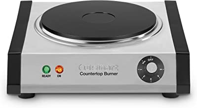 Cuisinart Cast-Iron Single Burner, Stainless Steel