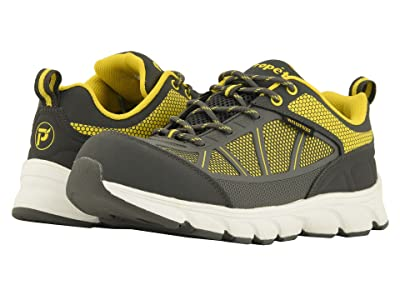 Propet Seeley Work (Grey/Yellow) Men