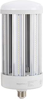 Amazon Basics 50W LED Corn Bulb, 5000 Lumens, 50000 Hours, E26 Base | Daylight