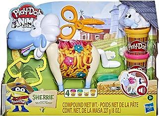 Play-Doh Animal Crew Sherrie Mama Wollen Schaapspeelgoed Voor Kinderen Vanaf 3 Jaar Met Grappige Geluiden en 4 PlayDoh Kle...