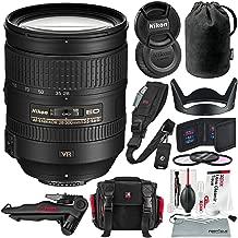 Nikon AF-S NIKKOR 28-300mm f/3.5-5.6G ED VR Lens and Deluxe Bundle w/Xpix Camera Bag, Tripod, Cleaning Kit + Much More