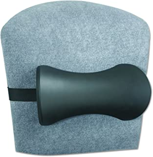 Safco Products 7154BL Memory Foam Lumbar Support Backrest, Black
