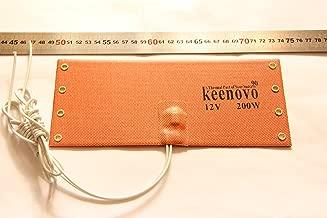 12V 200W KEENOVO WVO Diesel Fuel Filter Heater NOS Bottle Heater w/T-stat 90C