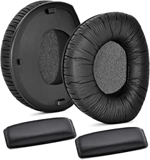 Defean Earpad Repair Parts Suit Replacement HDR160 HDR170 Ear Pads Cushion Headband Compatible with Sennheiser RS160 RS170...