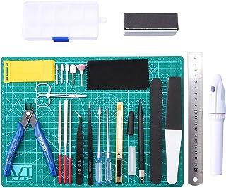 HSEAMALL 26PCS Outils de modélisme ,Gundam Modeleur Basic Outils Craft Set,Bandai Hobby pour voiture modÈle assembler Kit